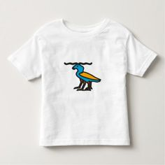 Shop Blue strange animal toddler t-shirt created by ZierNorShirt. Personalize it with photos & text or purchase as is! Unique Animals, Consumer Products, Basic Colors, Cotton Tee, Mens Tops, How To Wear, Design, Long Horn, Weddingideas