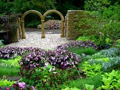 Botanic Gardens In Glasnevin (Dublin) Cleveland Botanical Garden, Botanical Gardens, Amazing Gardens, Beautiful Gardens, Park Landscape, Garden Park, Public Garden, Garden Plants, Outdoor Structures