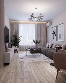 Home Bar Rooms, House Rooms, Home Living Room, Living Room Decor, Modern Home Interior Design, Home Room Design, Living Room Designs, Apartment Interior, Apartment Design