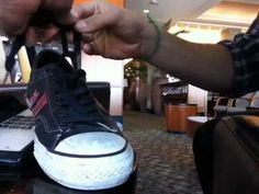 Wherein Misha Collins teaches you how to properly tie your shoes. Because double knots suck.