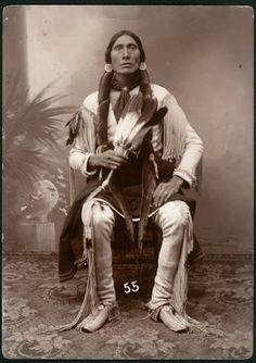 Comanche man - no date
