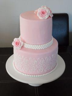 vintage theme cake