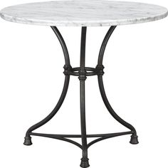French Kitchen Bistro Table in Dining Tables   Crate and Barrel