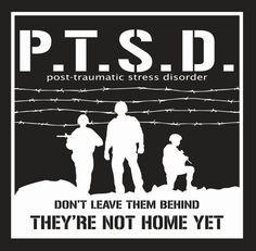 ptsd is not fake to a veteran