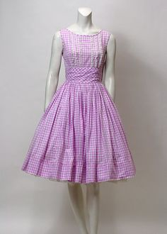 1950s Dress // Vintage 1950s Party Dress // by hotcouturevintage