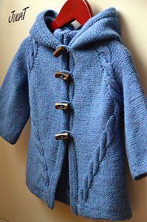 Kapuzin hoodie knitting pattern