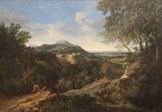 Dughet, Gaspard - Paysage montagneux romain - Gemäldegalerie, Berlin
