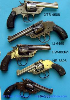 Iver Johnson revolvers Guns of the Old West. So neat! Would love to own one of these bad boys.