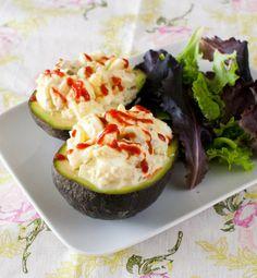 6 Delicious & Healthy Stuffed Avocado Recipes -