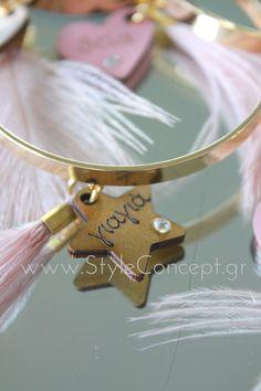 Martyrika Bracelets Giagia Pink Feather