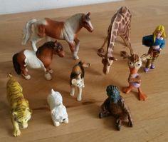 Bullyland Figuren  9 Stück verschiedene Figuren  von Bullyland 150512-31#  Die hab Ich bekommen.