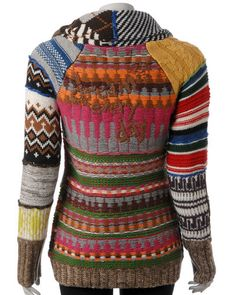 Desigual Multi-Colored 'JERS_NEELA' cardigans