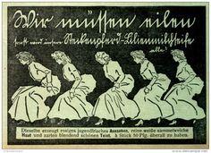 Original-Werbung/Inserat/ Anzeige 1907 - STECKENPFERD LILIENMILCH-SEIFE ca. 90 X 135 mm