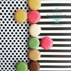 Macaroons for you. Available at the House of Clarendon. www.houseofclarendon.com
