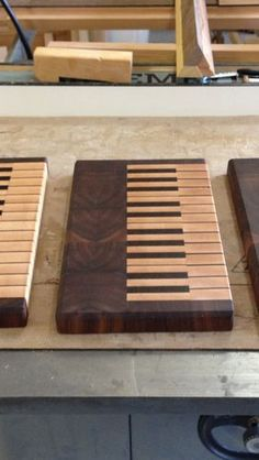 Woodworking Projects End Grain (Key) Board Collection.