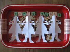 """My mom showed me how to cut """"several"""" shapes by folding the paper & cutting it out."""