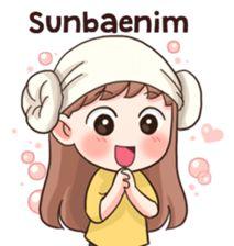 I love KPOP - Stickers de los Creators. Korean Phrases, Korean Words, Kpop, W Kdrama, Anime Korea, Korean Anime, Chibi Kawaii, Korean Expressions, Korean Stickers