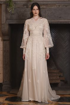 'The Four Seasons' - a new couture bridal fashion collection for 2017 by Claire Pettibone.