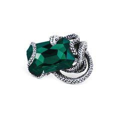 NAIDA. Snake Wrap Ring - Emerald Green – REGALROSE   SHOP Fashion Jewellery & Accessories