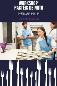 O dia em que fui Chef Pasteleira - Workshop de Pastéis de Nata Portugal, Lisbon, Traveling, Blog, Travel Guide, Resep Pastry, Travel Ideas, Battle, Pastel De Nata