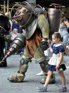BioShock Little Sister and Rosie