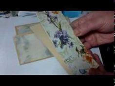 ▶ Vintage Uhr mein Minialbum - YouTube
