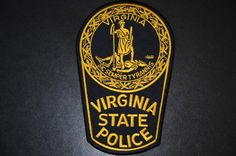 Virginia State Police Patch (Current Issue)