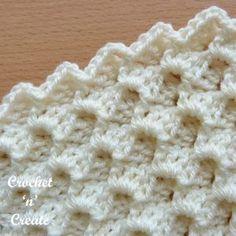 Crochet Stitches Free Tutorials - Crochet 'n' Create Crochet stitches free tutorials and pictorials, new stitches and step by step instructions added weekly, come and take a look . Crochet Stitches Free, Afghan Crochet Patterns, Knitting Stitches, Crochet Hooks, Free Crochet, Hand Knitting, Crochet Crafts, Crochet Projects, Crochet Tutorials