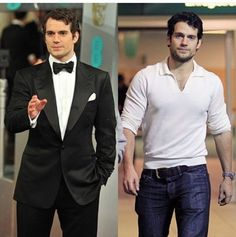 #Henry Cavill, can you imagine if there were 2 of him? wow mind blowing