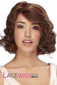 """10"""" Curly #30 Lace Front Wigs 100% Indian Remy Human Hair"""
