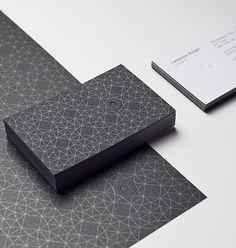 Black Ubrella branding corporate identity stationary letterhead business card logo pattern minimal graphic design