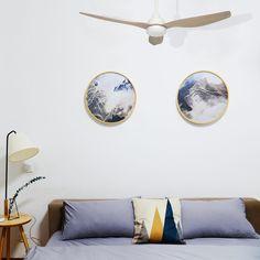 Dc Ceiling Fan, Modern Ceiling, Undercover, Flexibility, Abs, Indoor, Entertainment, Australia, Plastic