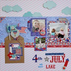 Patriotic Parade: Layouts that Explode with Inspiration