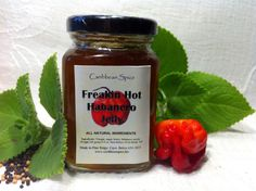 This pepper jelly is packin' heat! More spicy then your average pepper jelly and packed full with fresh habaneros to get the perfect sweet and hot flavor. 4oz