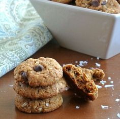 Coconut Chocolate Chip Cookies Vegan