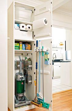 Apartment Closet Organization, Closet Storage, Organization Ideas, Storage Ideas, Kitchen Organization, Closet Mudroom, Hallway Closet, Kitchen Storage Hacks, Towel Storage