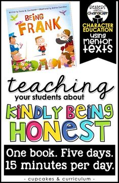 Social emotional learning - Kindly Being Honest Character Education Social Emotional Learning SEL Character Education Lessons, Social Skills Lessons, Teaching Social Skills, Social Emotional Learning, Student Teaching, Teaching Character, Kindness Activities, Social Activities, School Social Work