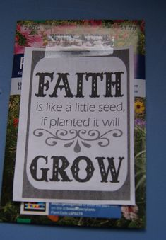 Thank you for planting Jesus in the hearts of children So that they can grow in faith VBS volunteer gifts ideas