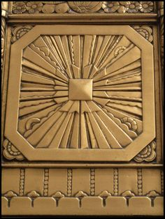 Landmark Frieze Starburst by wiebkefesch.deviantart.com on @deviantART