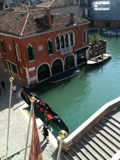 View of Venice from our room.