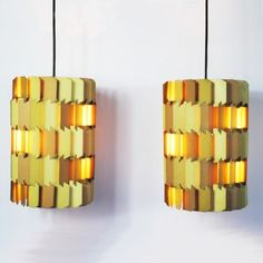Located using retrostart.com > Facet-pop Hanging Lamp by Louis Weisdorf for Lyfa