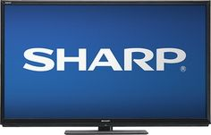 "Sharp - AQUOS - 60"" Class - LED - 1080p - 120Hz - Smart - 3D - HDTV"