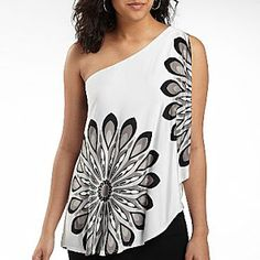 Yajaira's Fashion Notes: Floral Flirty Tops (Jcpenney/Macys/Zara)