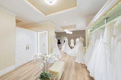 Wedding dresses salon. Projecy by Joanna SAFRANOW