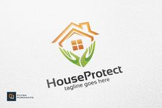 House Protect - Logo Template by @Graphicsauthor