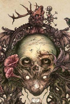 Dibujo, ilustración y muchos detalles de DZO OLIVIER.