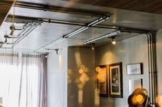 Detalhes caprichados no lar dos arquitetos