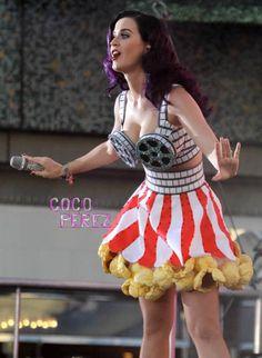 Katy perry movie dress!