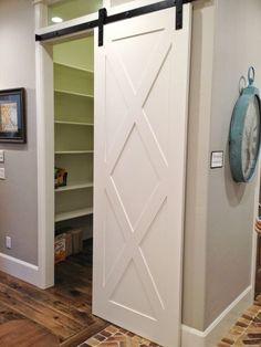 The Aqua House: Utah Valley Parade of Homes Round Up: What's trending in 2014 Barn Door Designs, Diy Barn Door, Parade Of Homes, Pocket Doors, Interior Barn Doors, Closet Doors, Sliding Doors, Home Remodeling, Utah