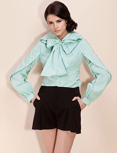 bow puff top